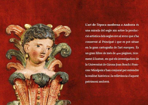 Estudi i catàleg de l'art de l'època moderna a Andorra. Segles XVI-XVIII
