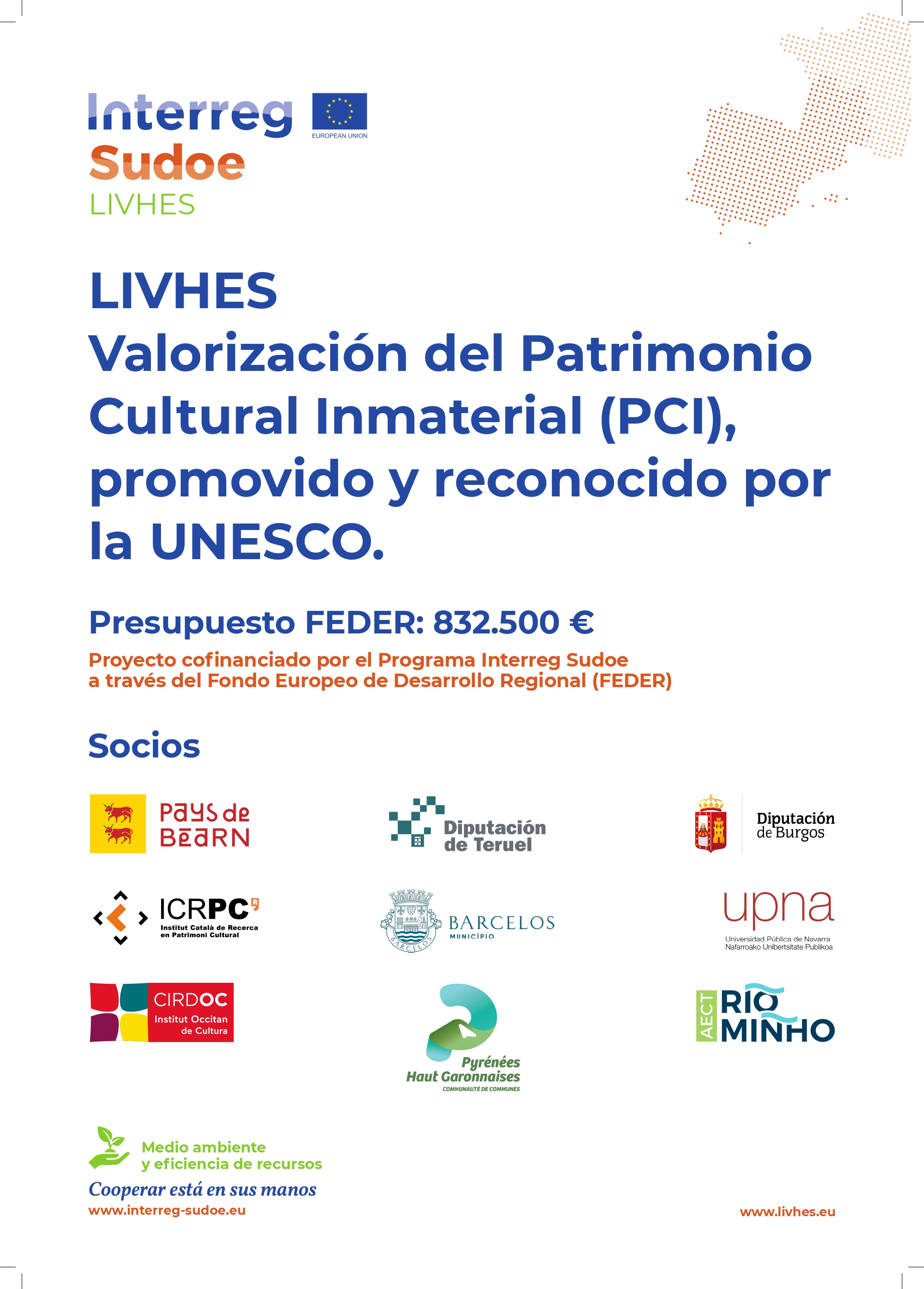 LIVHES. Living heritage for sustainable development