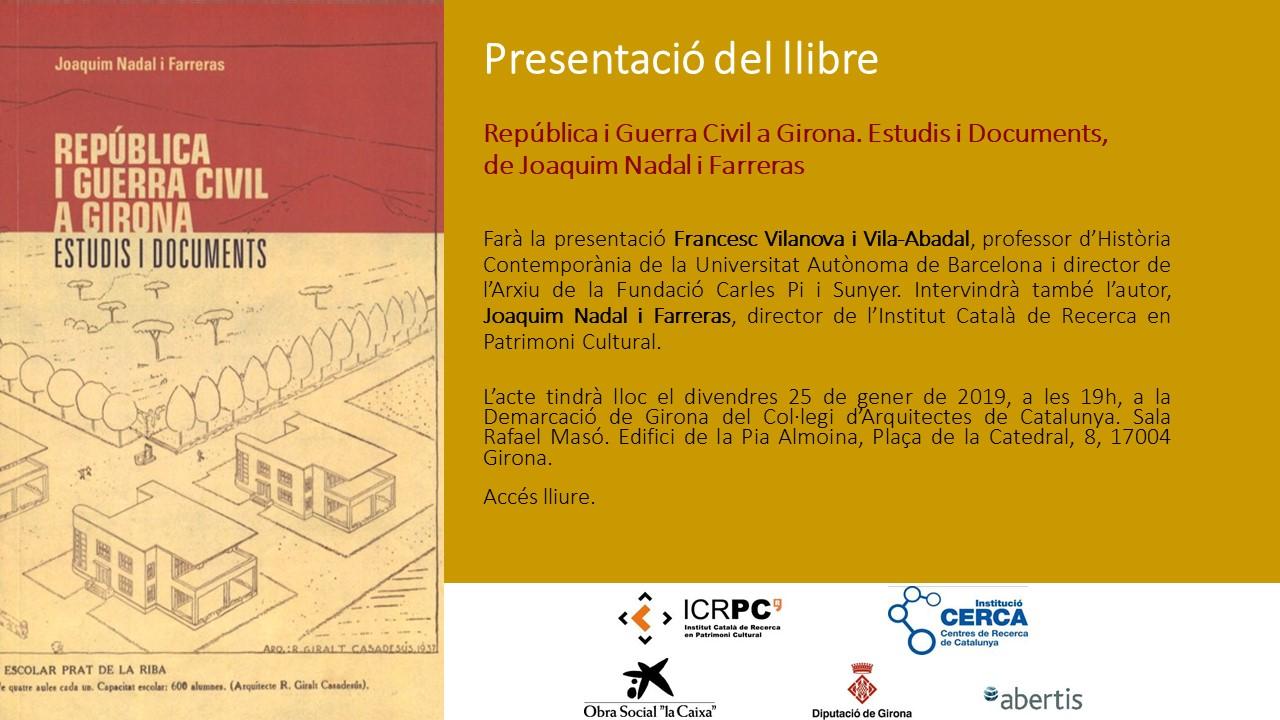 presentacio-del-llibre-republica-i-guerra-civil-a-girona-estudis-i-documents-