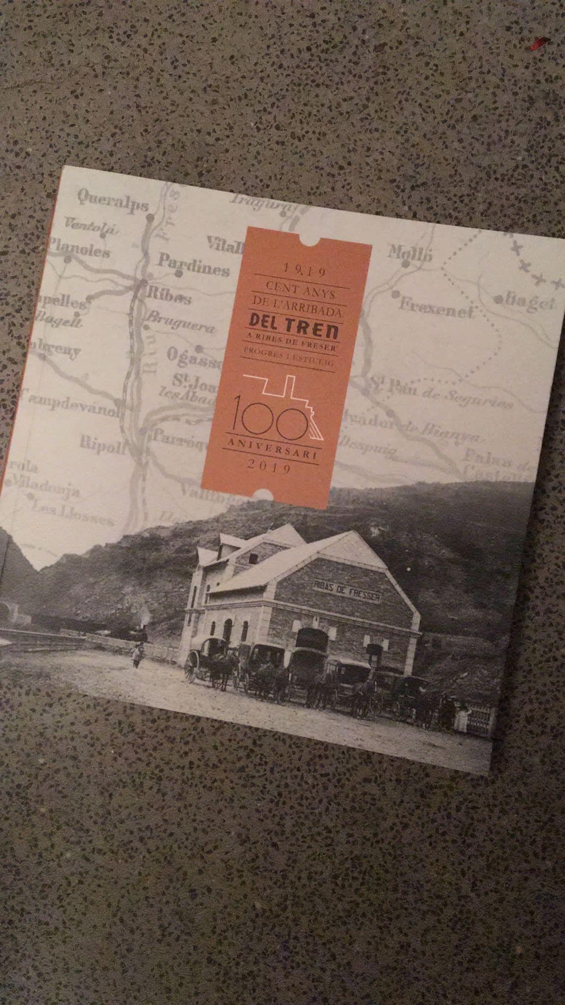 presentat-el-llibre-1919-cent-anys-de-larribada-del-tren-a-ribes-de-freser-progres-i-estiueig-de-joaquim-maria-puigvert-vicenc-horta-i-miquel-sitjar